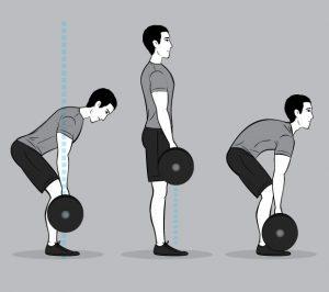 Ronde of sterke rug?